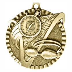 SWIMMING V SERIES MEDAL