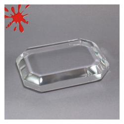ACRYLIC OCTAGONAL PAPERWEIGHT