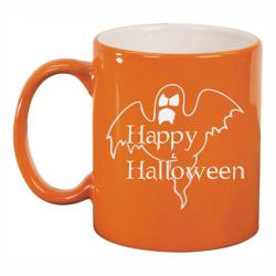 11oz ORANGE CERAMIC MUG