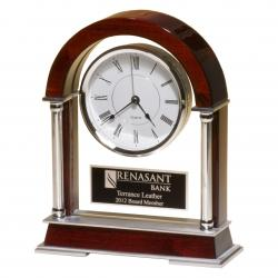 ROSEWOOD MANTEL CLOCK