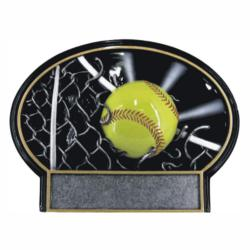 SOFTBALL SPOTLITE RESIN