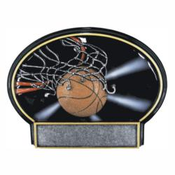 BASKETBALL SPOTLITE RESIN