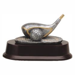 GOLF CLUB DRIVER RESIN TROPHY