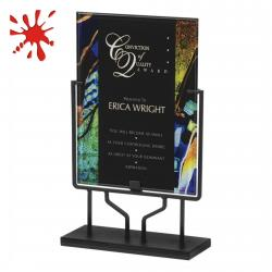 ARTISTIC ACRYLIC ART PLAQUE WITH STAND