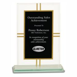 CONTEMPORARY GLASS 4 POINT AWARD