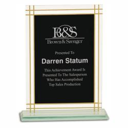 CONTEMPORARY GLASS FULL BORDER AWARD