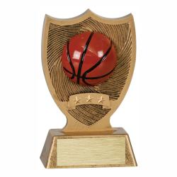 BASKETBALL SPORT SHIELD AWARD