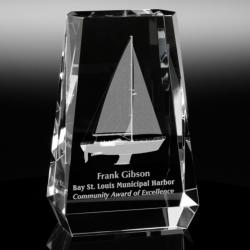 3D CRYSTAL ASPEN AWARD
