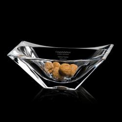 TOULON NON-LEAD CRYSTAL BOWL