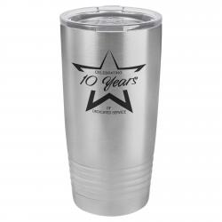 20oz. STAINLESS STEEL POLAR CAMEL TUMBLER