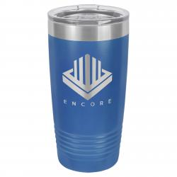20oz. BLUE POLAR CAMEL TUMBLER