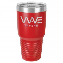 30oz. RED POLAR CAMEL TUMBLER