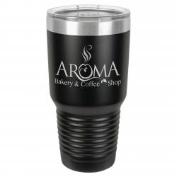 30oz. BLACK POLAR CAMEL TUMBLER