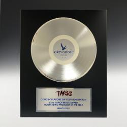 16 X 20 PLATINUM RECORD PLAQUE